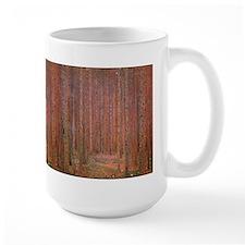 Fir Forest by Klimt Ceramic Mugs