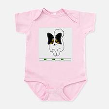 Tri-Color Papillon Infant Bodysuit
