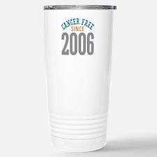 Cancer Free Since 2006 Travel Mug
