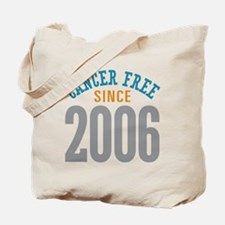 Cancer Free Since 2006 Tote Bag