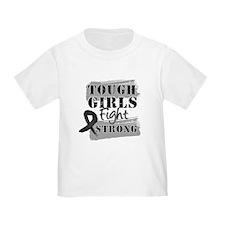 Tough Girls Skin Cancer T