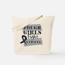 Tough Girls Skin Cancer Tote Bag