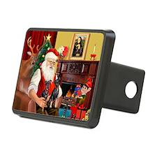 Santa's 2 Mun Pinschers Hitch Cover