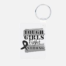 Tough Girls Skin Cancer Keychains