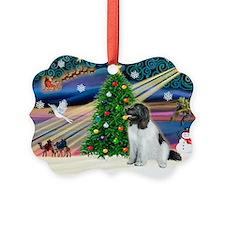 Xmas Magic & Newfie Ornament