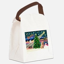 Xmas Magic & Norfolk T Canvas Lunch Bag