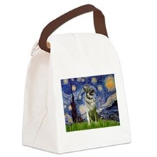 5.5x7.5-Starry-NorwElk.png Canvas Lunch Bag