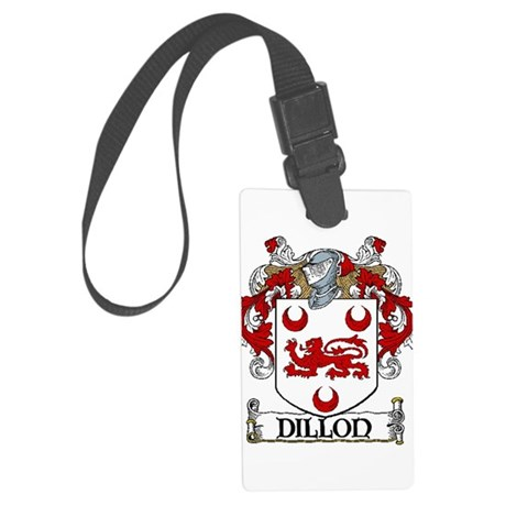 Dillon Coat of Arms Large Luggage Tag