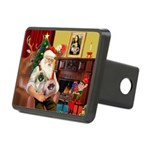 Santa's 2 Pekingese Rectangular Hitch Cover