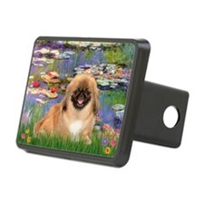Lilies & Pekingese (#1) Hitch Cover