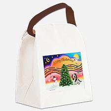 XmasMusic2/PBGV #5 Canvas Lunch Bag