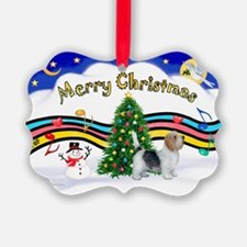 XmasMusic1/PBGV #9 Ornament