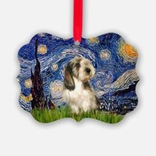 Starry Night PBGV (#4) Ornament