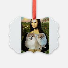 Mona's 2 Poms Ornament