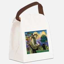 Cute Poodle Canvas Lunch Bag