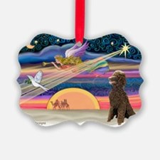 XmasStar/Poodle (STC) Ornament