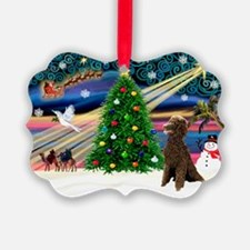 XmasMagic/Poodle (ST-ch) Ornament