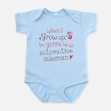 Future Automotive Salesman Infant Bodysuit