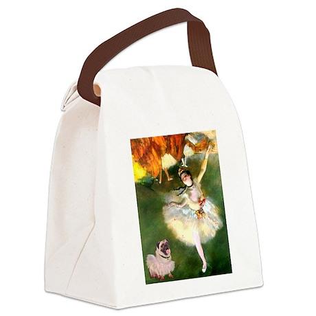TR-Dancers-PugLcy-Tuttu.png Canvas Lunch Bag