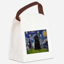 Funny Gogh Canvas Lunch Bag