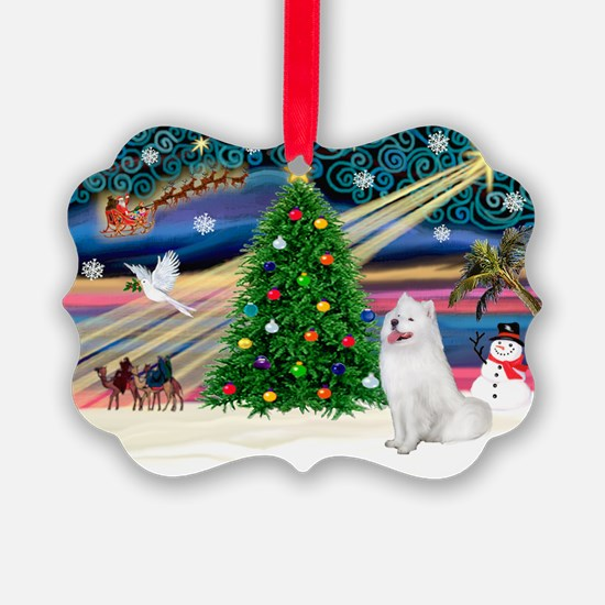 Xmas Magic & Samo Ornament