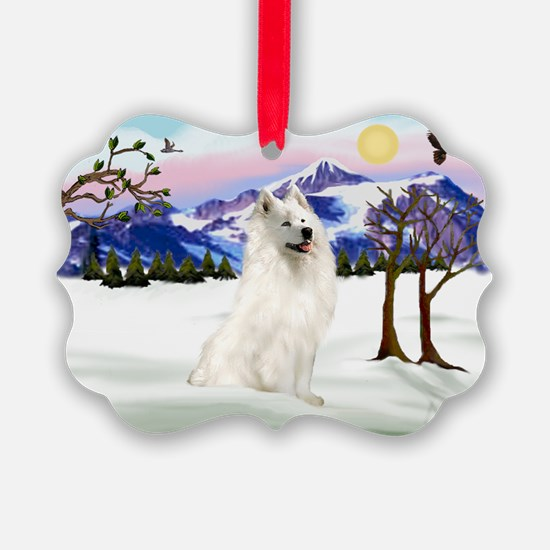 Snow Country / Samoyed Ornament