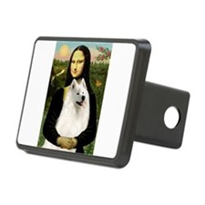 Mona Lisa / Samoyed Hitch Cover