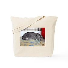 Sleeping Guinea Pig Tote Bag
