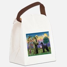 card-Stfrancis-GSchnauzr1.png Canvas Lunch Bag