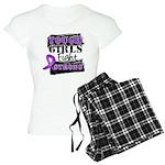 Tough Girls Pancreatic Cancer Women's Light Pajama