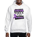 Tough Girls Pancreatic Cancer Hooded Sweatshirt