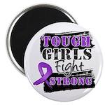 Tough Girls Pancreatic Cancer Magnet