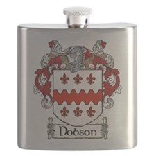 Dobson Coat of Arms Flask