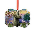 TILE-StFrancis-Schnauzer5.png Picture Ornament