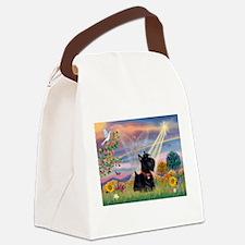 Cloud Angel & Scotty Canvas Lunch Bag