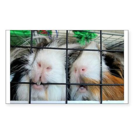 Piggie Lips Sticker (Rectangle)