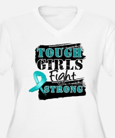 Tough Girls Ovarian Cancer T-Shirt
