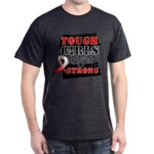Tough Girls Oral Cancer T-Shirt