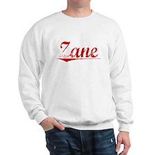 Zane, Vintage Red Sweatshirt