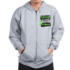 Tough Girls Non-Hodgkins Zip Hoodie