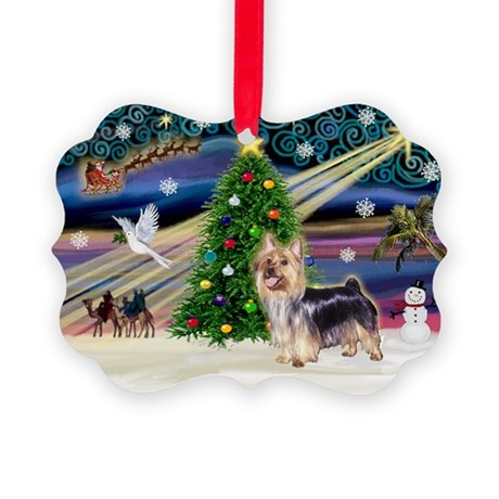 Xmas Magic & Silk T Picture Ornament