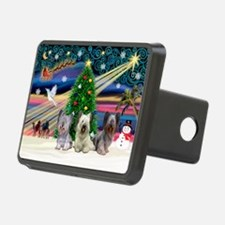 Xmas Magic & Skye Trio Hitch Cover