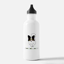 Tri-Color Papillon Water Bottle
