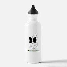 Black Papillon Sports Water Bottle