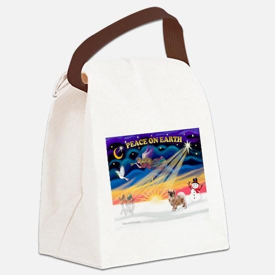 XmasSunrise/Tibet Span #1 Canvas Lunch Bag