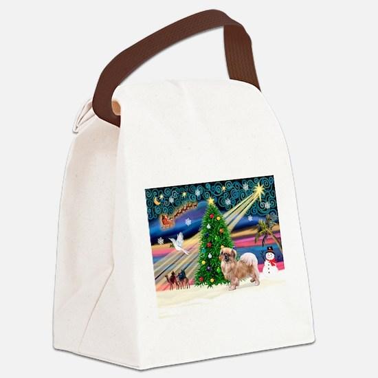 Xmas Magic /Tibet S Canvas Lunch Bag