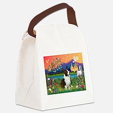 Fantasy Land / Corgi (c) Canvas Lunch Bag