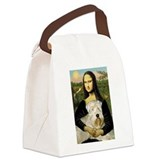 Soft coated wheaten terrier mona lisa Canvas Lunch Bag