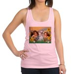 Angels with Yorkie Racerback Tank Top