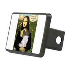 Mona's Papillon Therapy Dog Hitch Cover